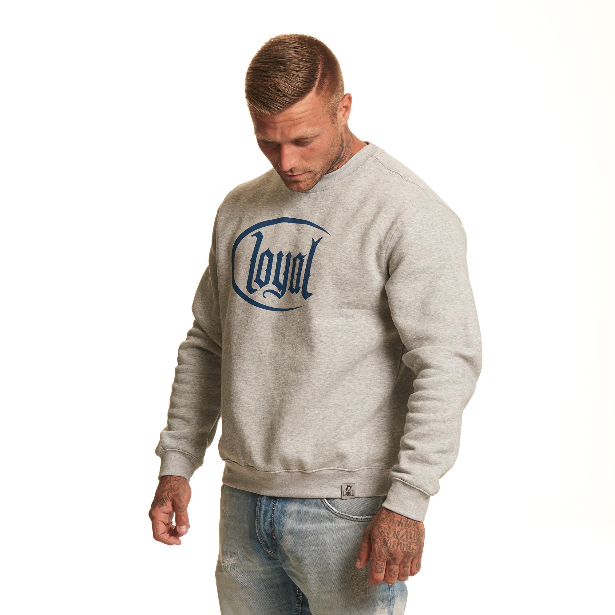 Loyal Circle Navy von Kontra K - Sweater jetzt im Loyal Shop