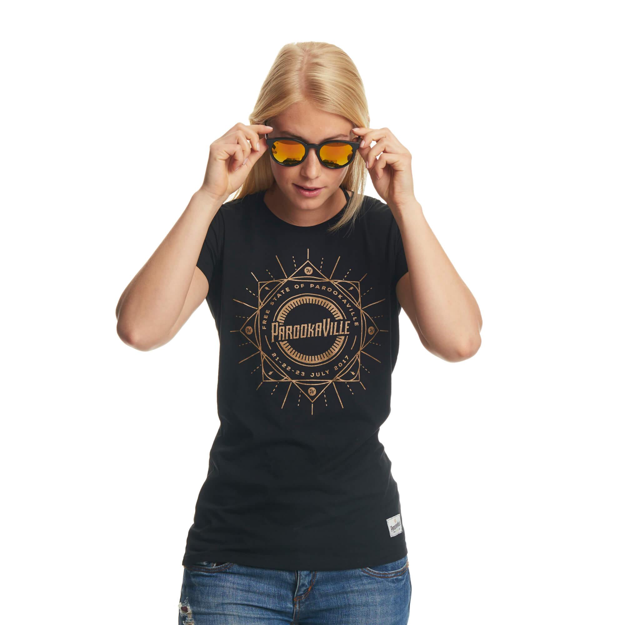 Free State of von ParookaVille Festival - Girlie Shirt jetzt im My Festival Shop Shop