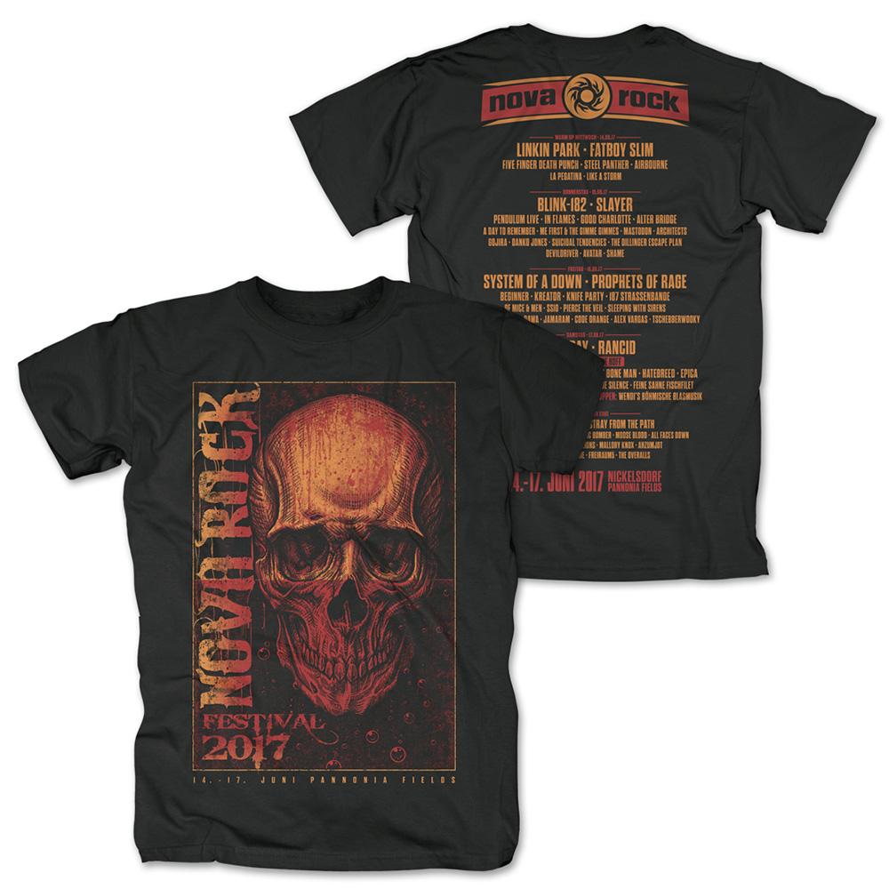 Drown in Blood von Nova Rock Festival - T-Shirt jetzt im My Festival Shop Shop