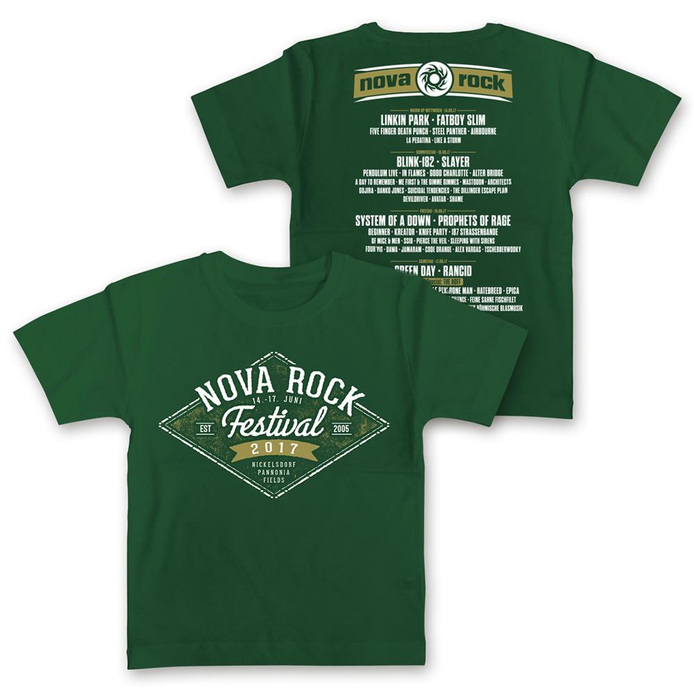 Diamond Sign von Nova Rock Festival - Kids Shirt jetzt im My Festival Shop Shop