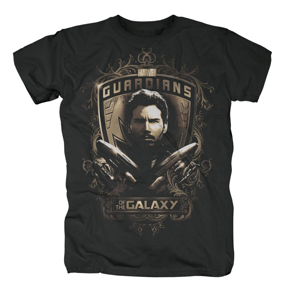 Star Lord Shield von Guardians of the Galaxy - T-Shirt jetzt im SuperTees Shop