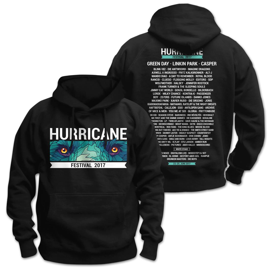 Eyes Only von Hurricane Festival - Kapuzenpullover jetzt im Bravado Shop