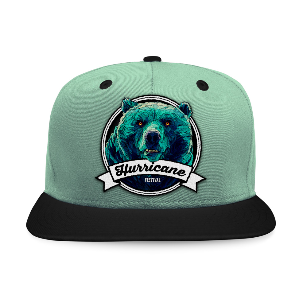 Bear Badge von Hurricane Festival - Snap Back Cap jetzt im My Festival Shop Shop