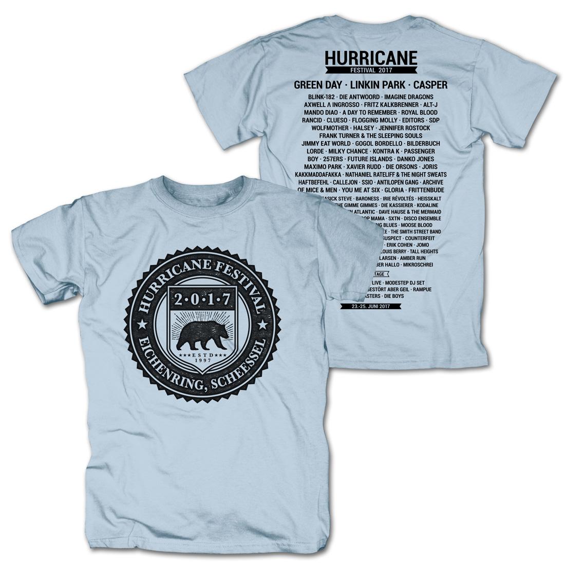 College Badge von Hurricane Festival - T-Shirt jetzt im My Festival Shop Shop