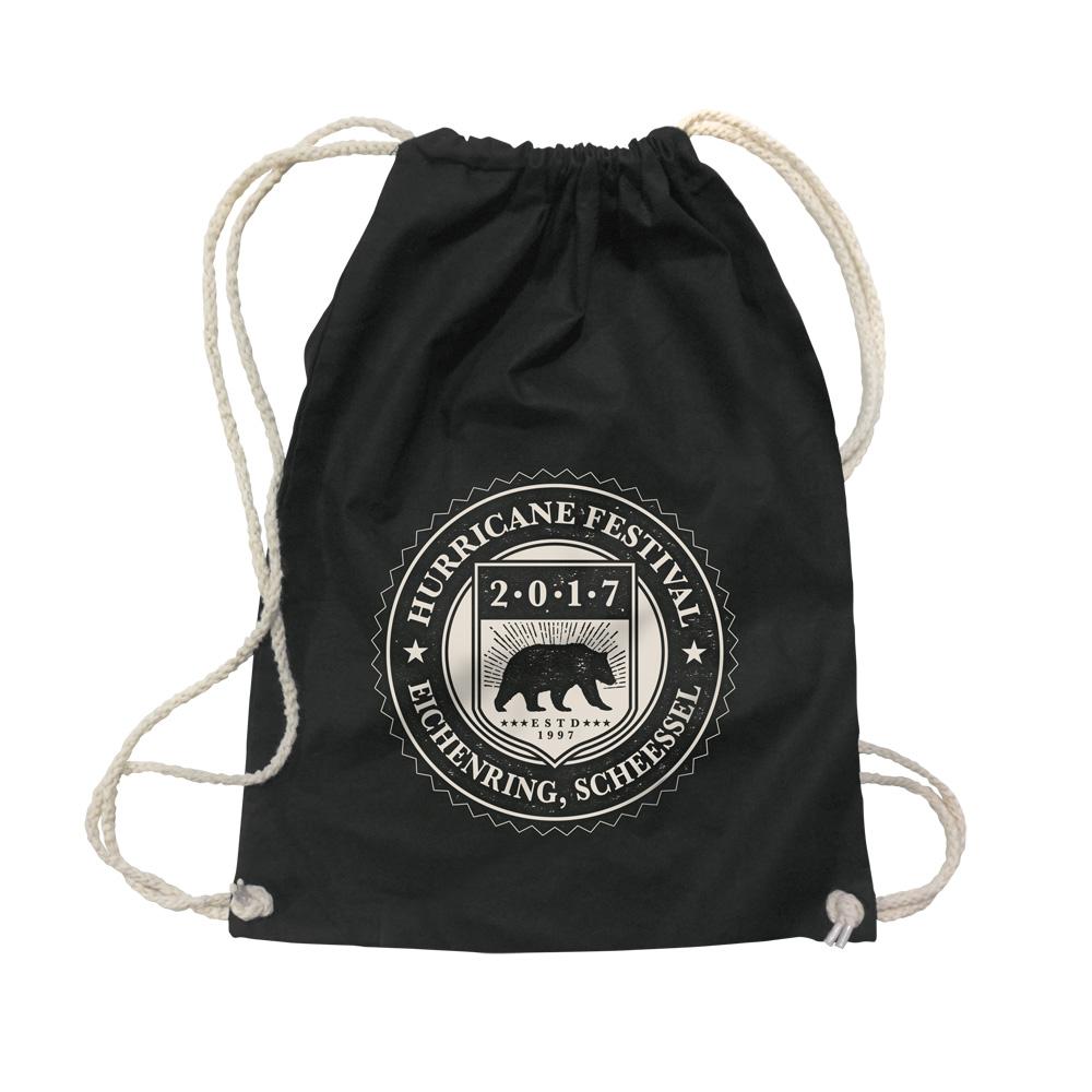 College Badge von Hurricane Festival - Gym Bag jetzt im My Festival Shop Shop
