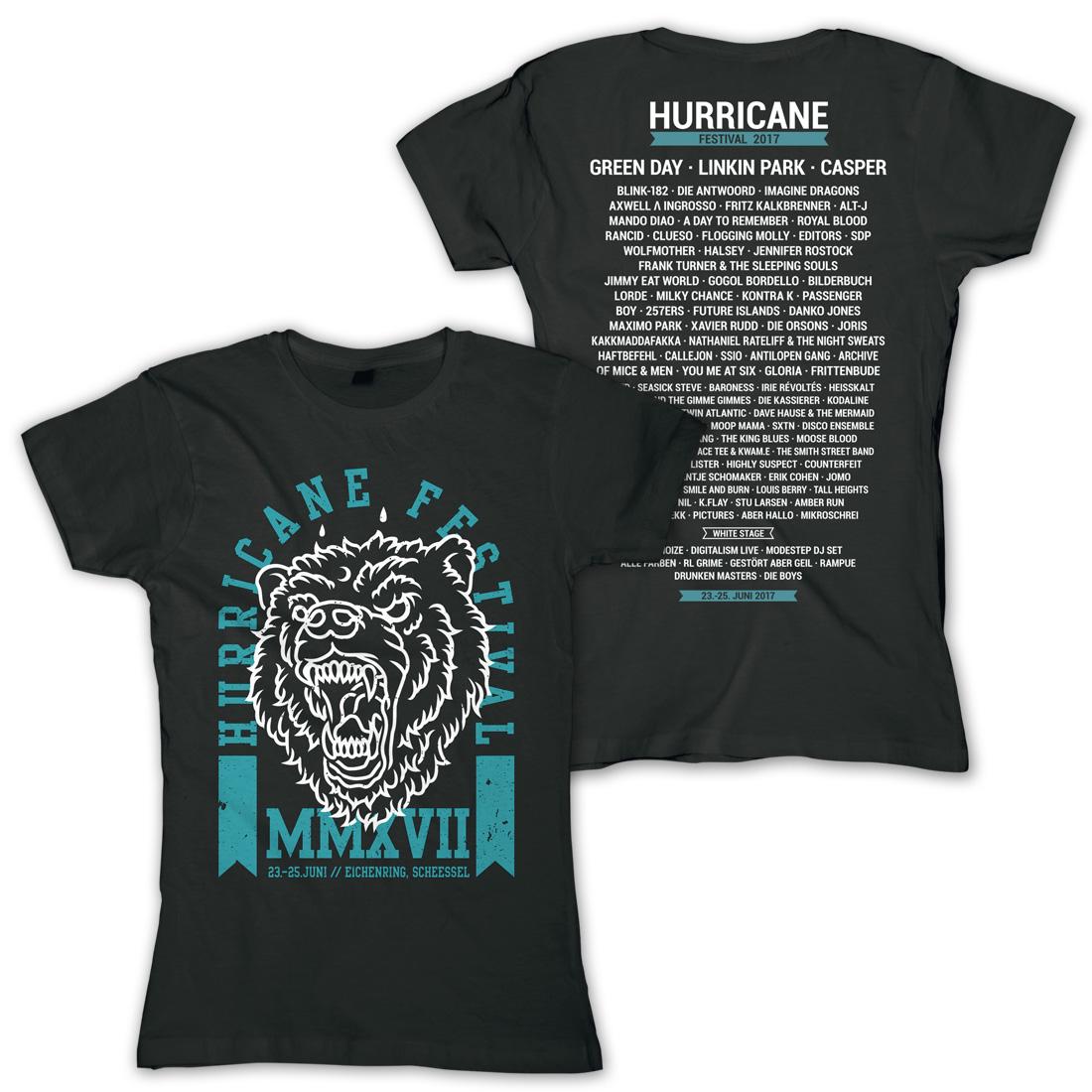 Scream von Hurricane Festival - Girlie Shirt jetzt im My Festival Shop Shop