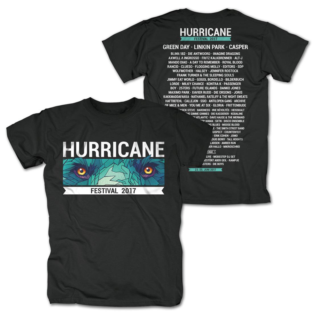 Eyes Only von Hurricane Festival - T-Shirt jetzt im My Festival Shop Shop