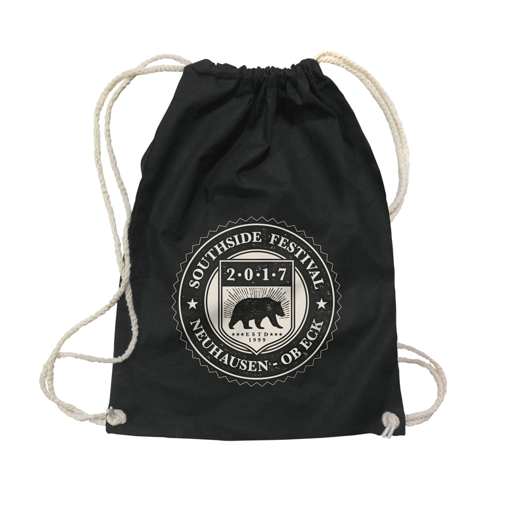 College Badge von Southside Festival - Gym Bag jetzt im My Festival Shop Shop
