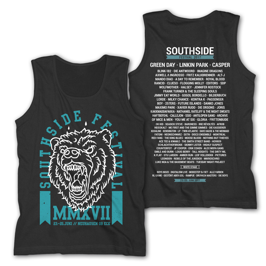 Scream von Southside Festival - Tank Shirt Men jetzt im My Festival Shop Shop