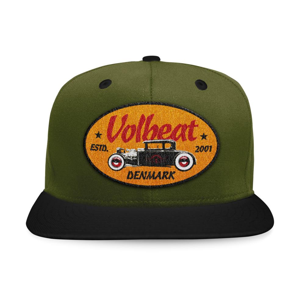 √Oval Car Badge von Volbeat - Cap jetzt im Volbeat Shop