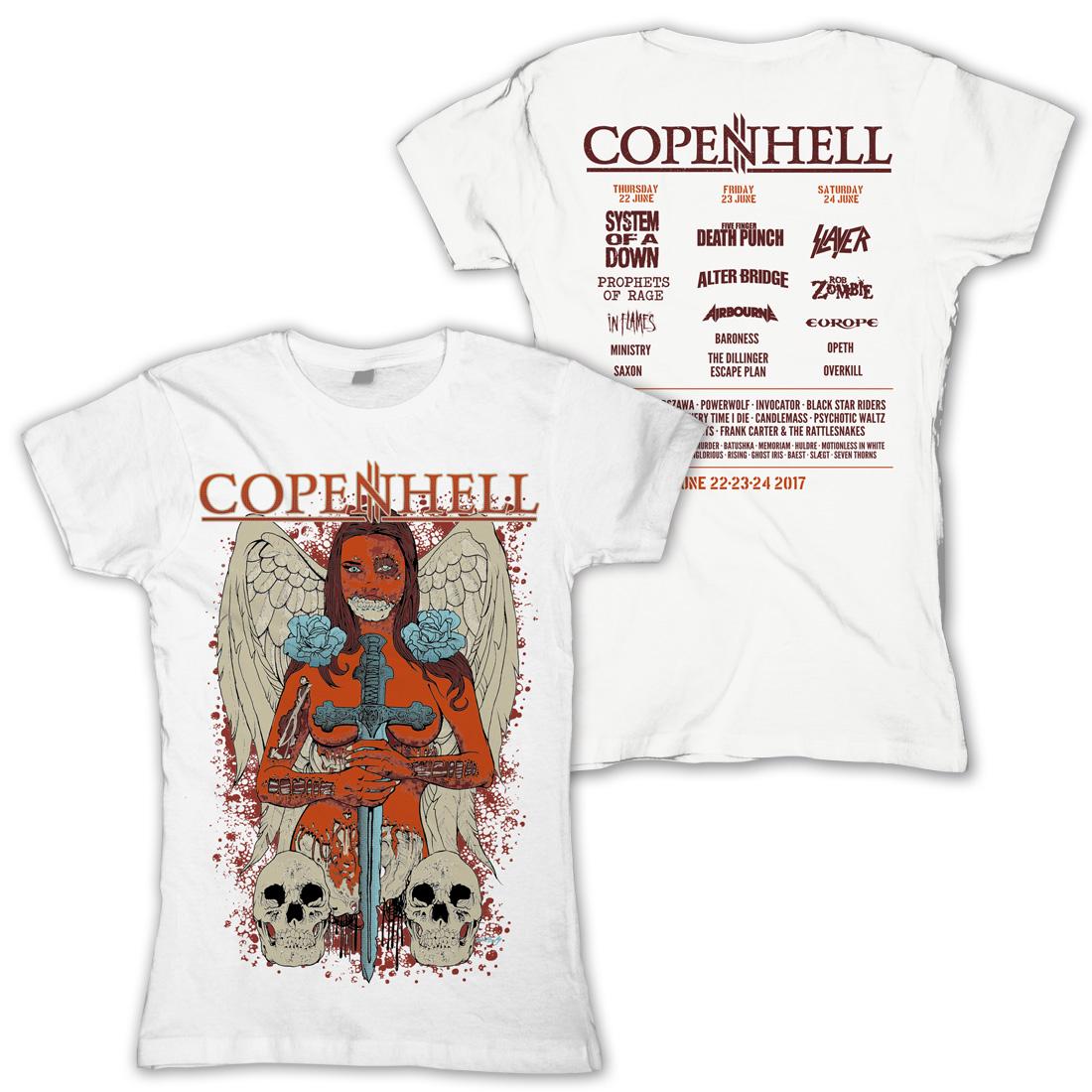 Angel of Death von Copenhell Festival - Girlie Shirt jetzt im My Festival Shop Shop