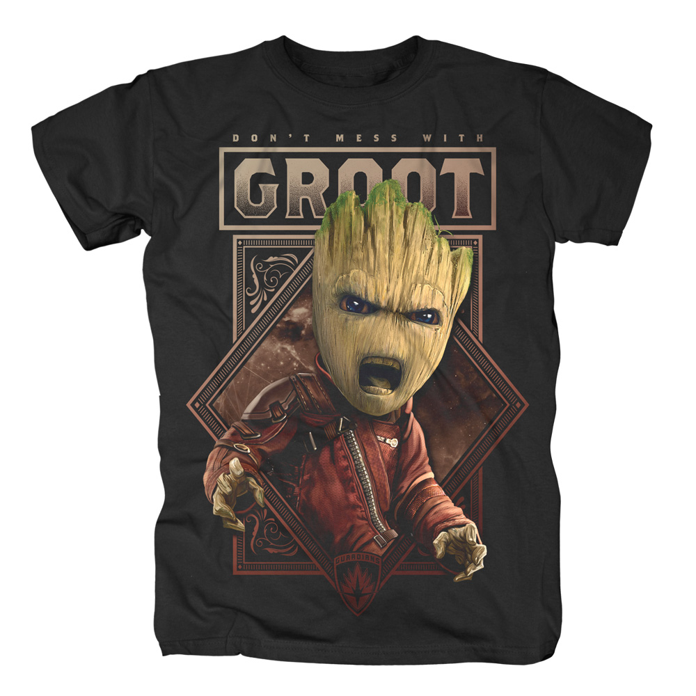 Don't Mess With Groot von Guardians of the Galaxy - T-Shirt jetzt im SuperTees Shop