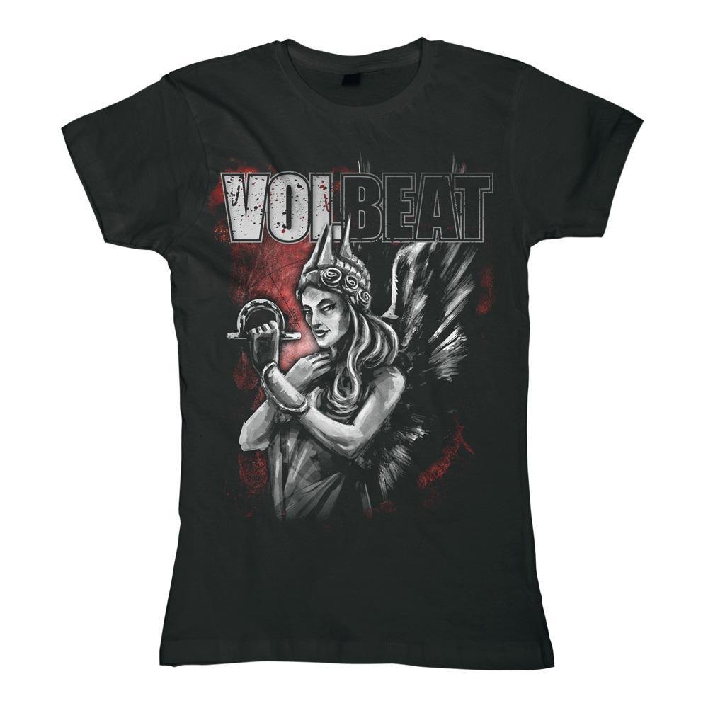 √Goddess Of War von Volbeat - Girlie Shirt jetzt im Volbeat Shop