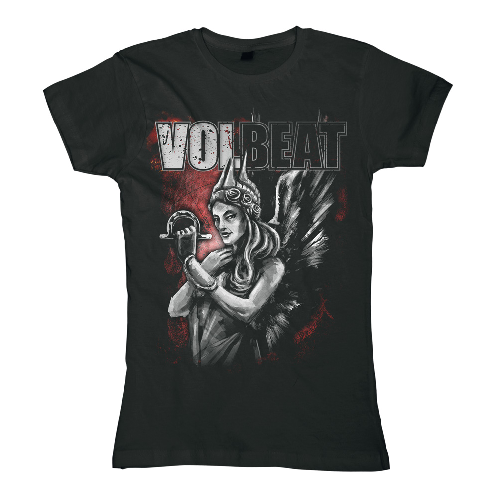 Goddess Of War von Volbeat - Girlie Shirt jetzt im Bravado Shop