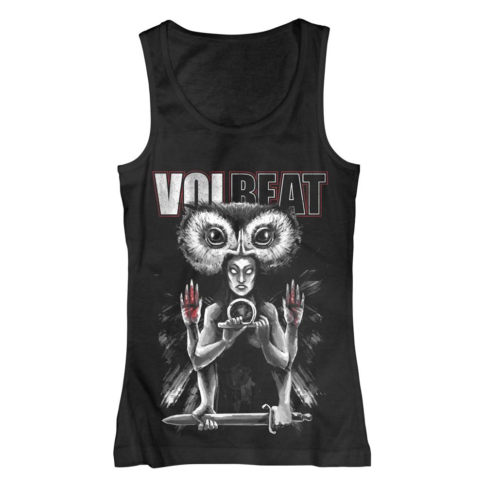 √Ishtar von Volbeat - Girlie tank top jetzt im Volbeat Shop