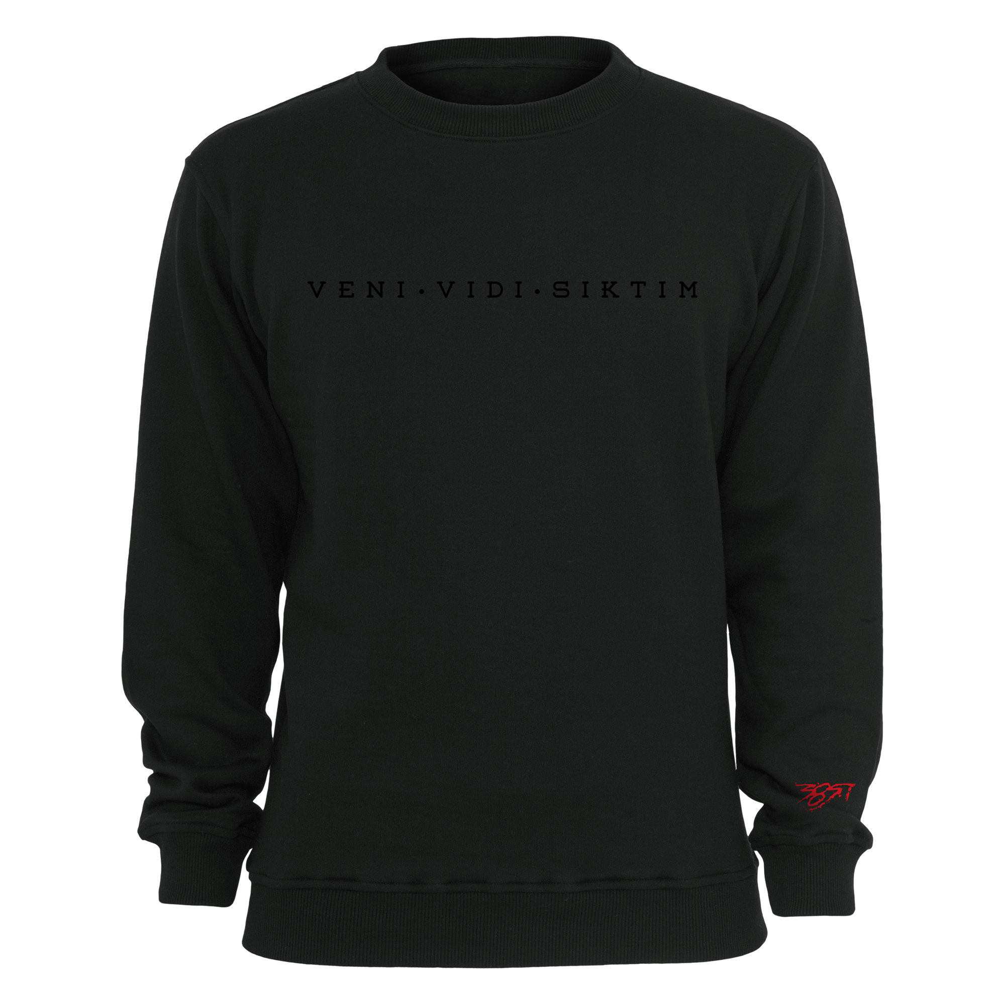 Veni Vidi Siktim - Black on Black von Nimo - Sweater jetzt im Bravado Shop