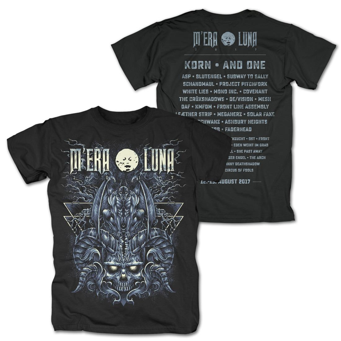 Drown with Hate von Mera Luna Festival - T-Shirt jetzt im My Festival Shop Shop