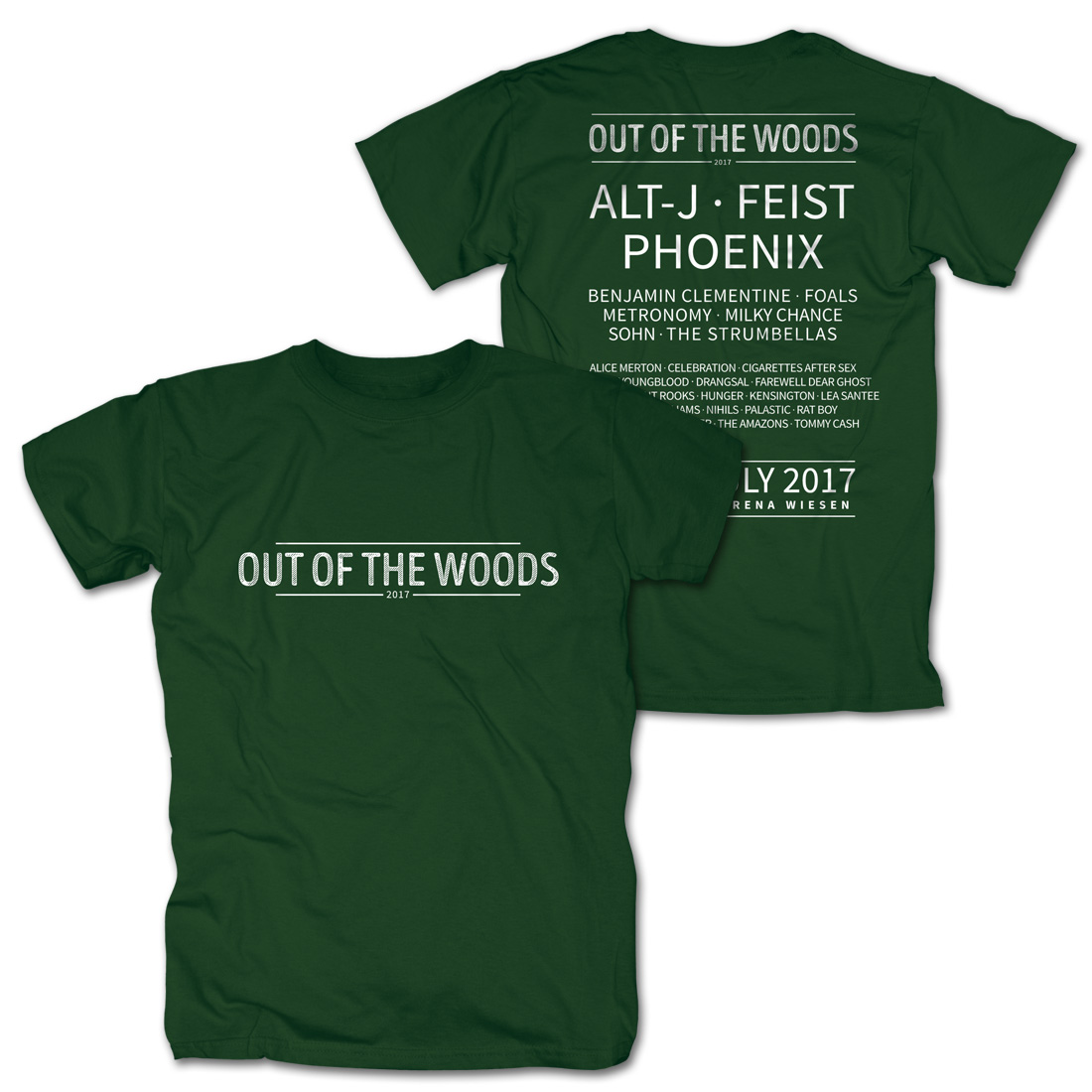 Logo von Out Of The Woods - T-Shirt jetzt im My Festival Shop Shop