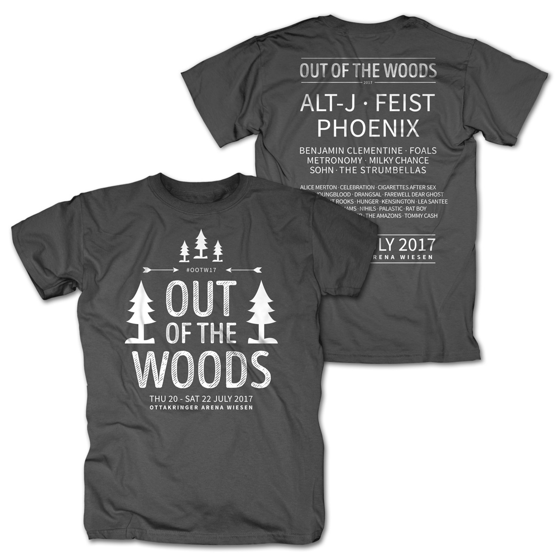 In The Trees von Out Of The Woods - T-Shirt jetzt im My Festival Shop Shop