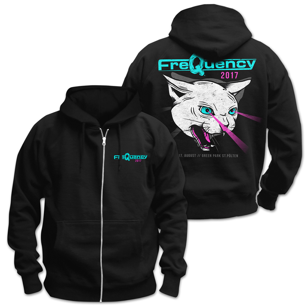 Laser Cat von Frequency Festival - Kapuzenjacke jetzt im My Festival Shop Shop