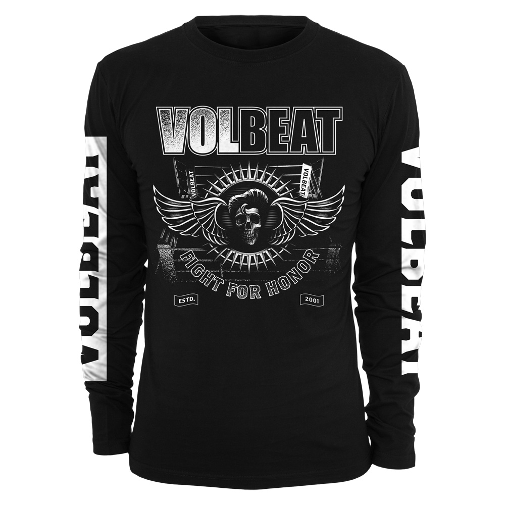 √Fight For Honor von Volbeat - Long-sleeve jetzt im Volbeat Shop
