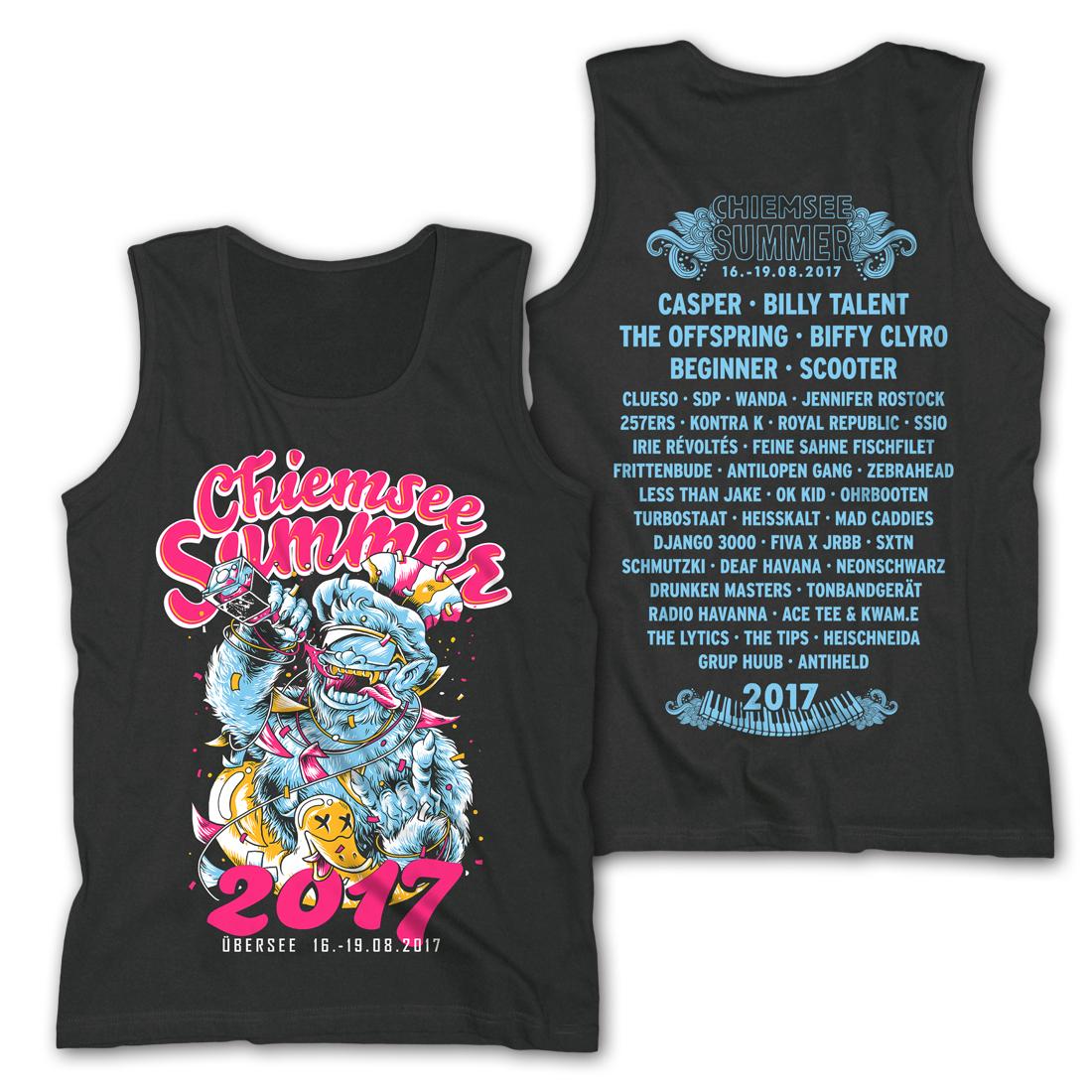 Party Hard von Chiemsee Summer - Men's Tank Top jetzt im My Festival Shop Shop