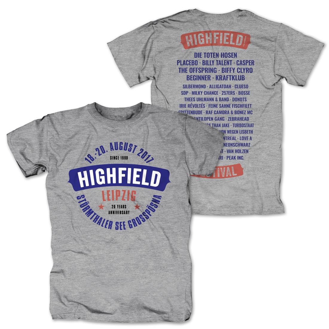 Logo von Highfield Festival - T-Shirt jetzt im My Festival Shop Shop