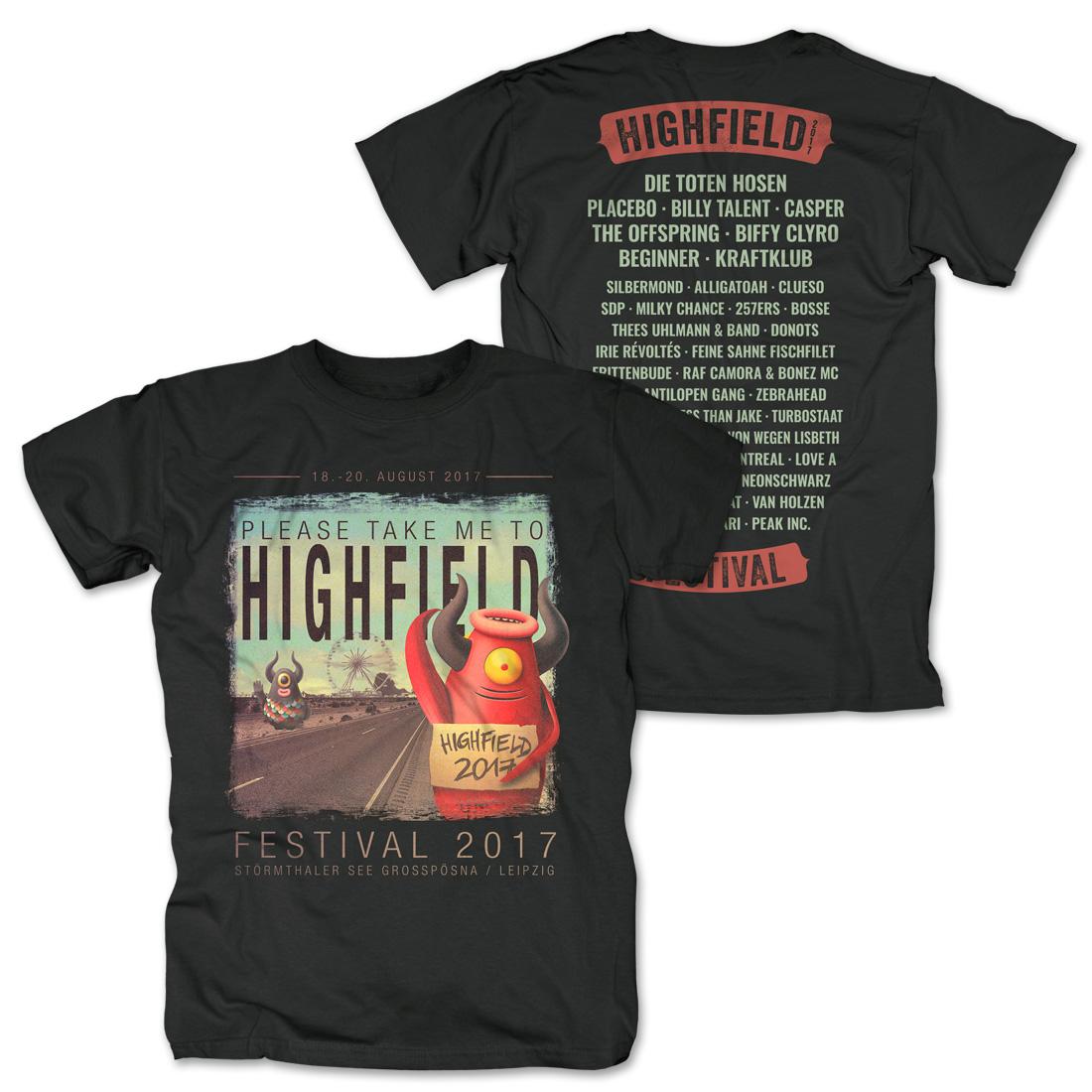 Pick Me Up von Highfield Festival - T-Shirt jetzt im Bravado Shop