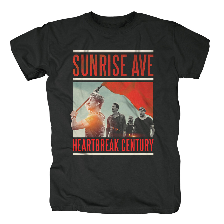 Heartbreak Century Cover von Sunrise Avenue - T-Shirt jetzt im Bravado Shop