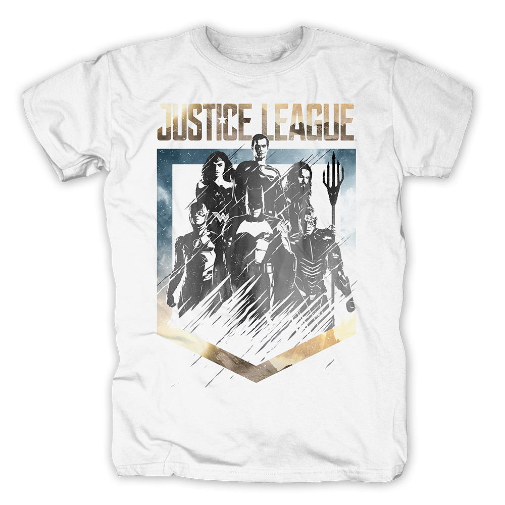 Unity von Justice League - T-Shirt jetzt im SuperTees Shop