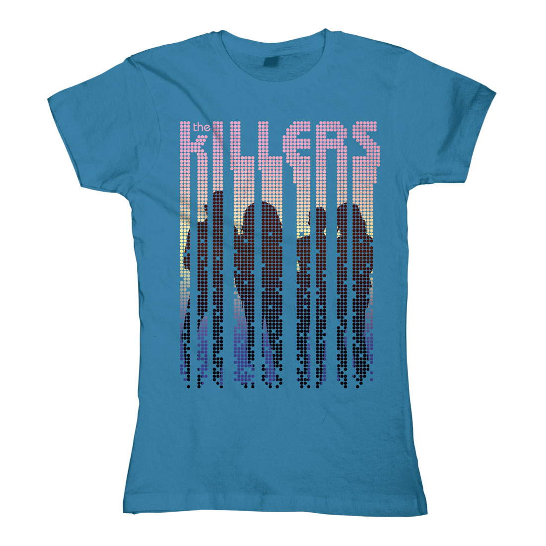 Silhouette Dots von The Killers - Girlie Shirt jetzt im Bravado Shop