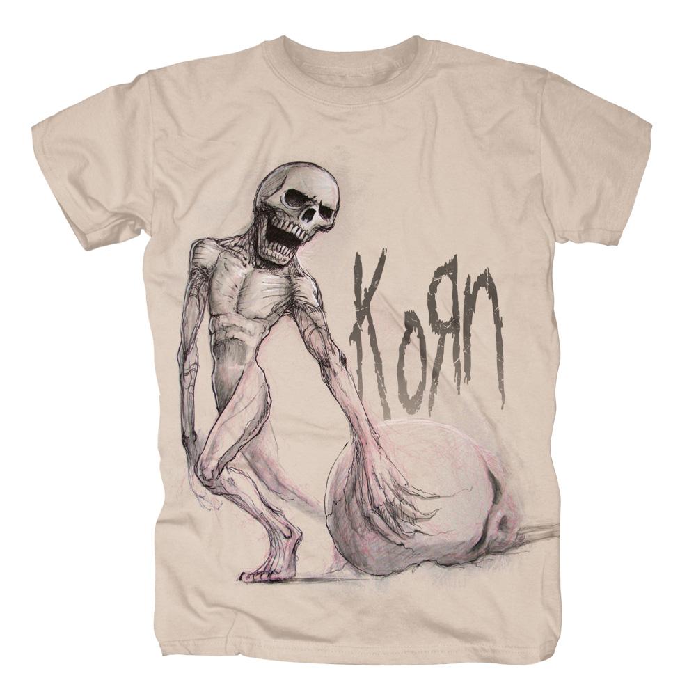 Death's A Drag von Korn - T-Shirt jetzt im Korn - Shop Shop
