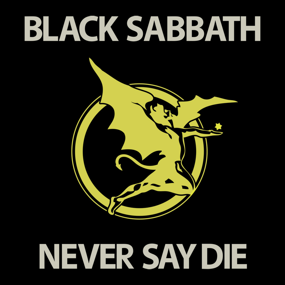 "Album Art Collection: Black Sabbath, ""Never Say Die / She ..."