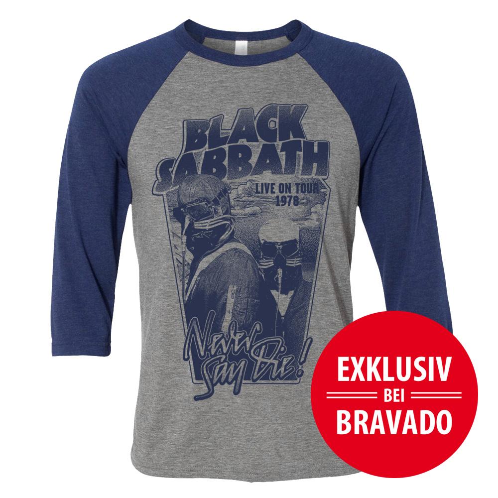 Black Sabbath Shirt Black Sabbath Shop Never Say