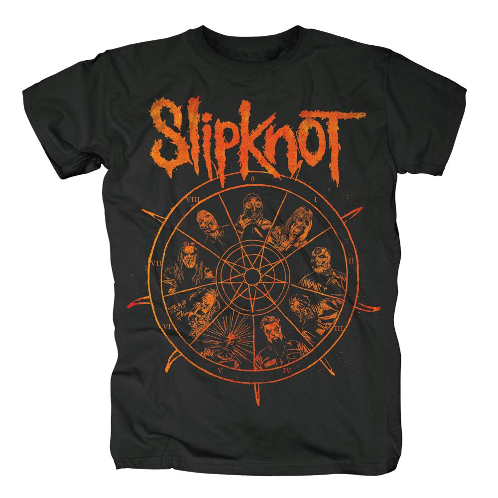 The Wheel von Slipknot - T-Shirt jetzt im Slipknot - Shop Shop