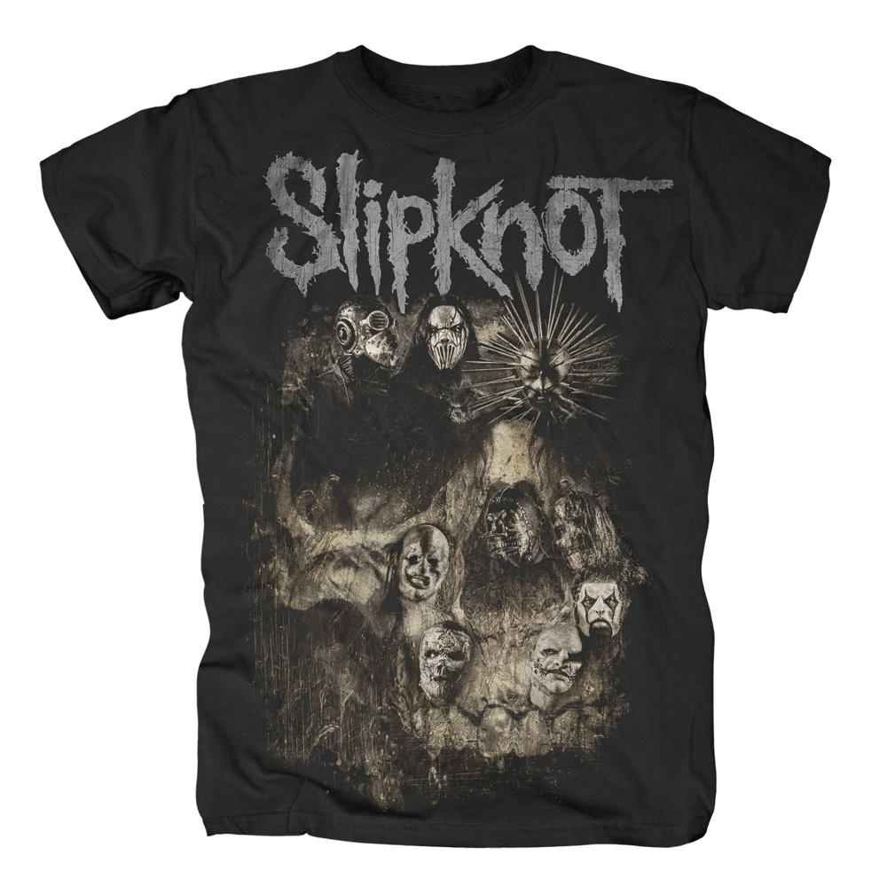 Skull Group von Slipknot - T-Shirt jetzt im Slipknot - Shop Shop