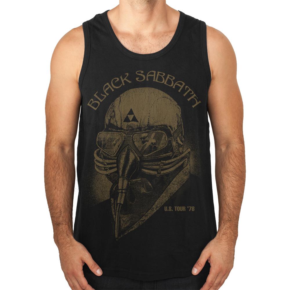 US Tour 78 von Black Sabbath - Tank Shirt jetzt im Black Sabbath Shop