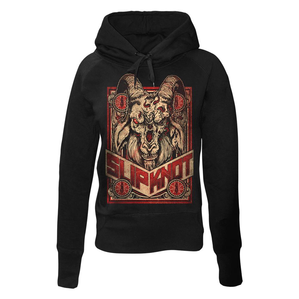 Furious Goat von Slipknot - Girlie Kapuzenpullover jetzt im Slipknot - Shop Shop