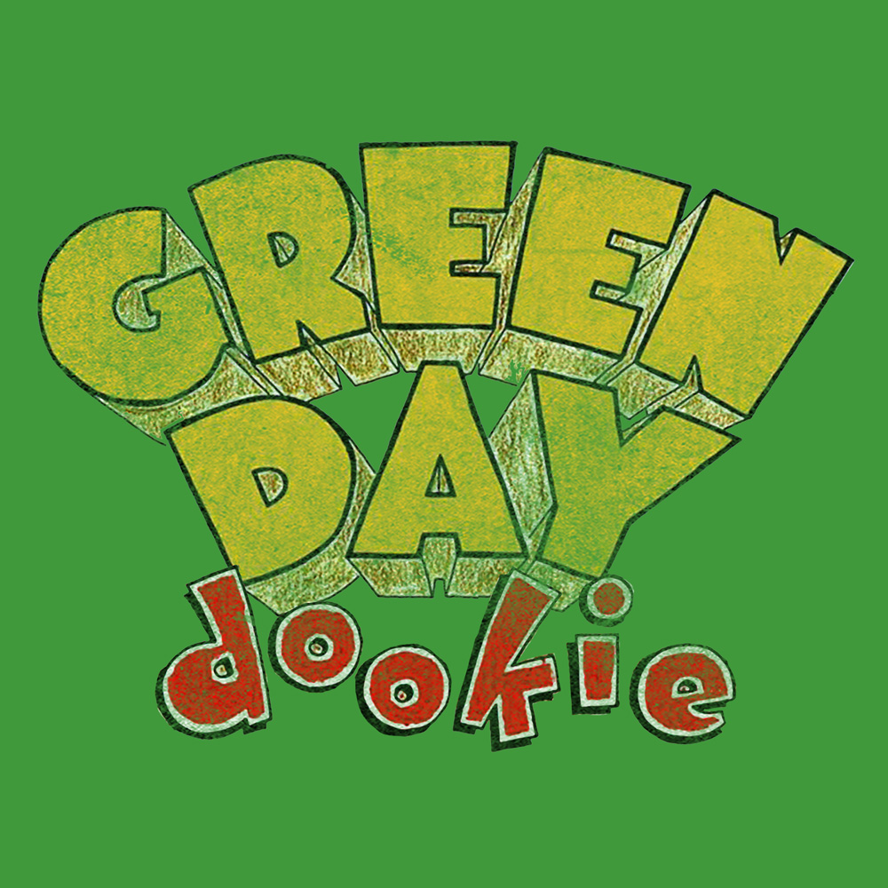 bravado dookie logo green day tshirt merch