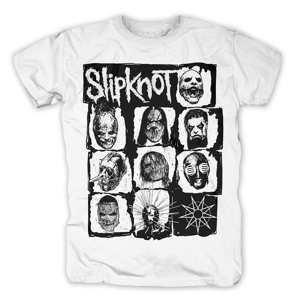 Masks Summer Tour 2016 von Slipknot - T-Shirt jetzt im Slipknot - Shop Shop
