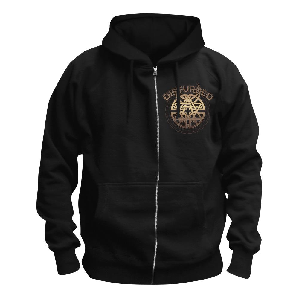 Bawl & Chain von Disturbed - Kapuzenjacke jetzt im Disturbed Shop