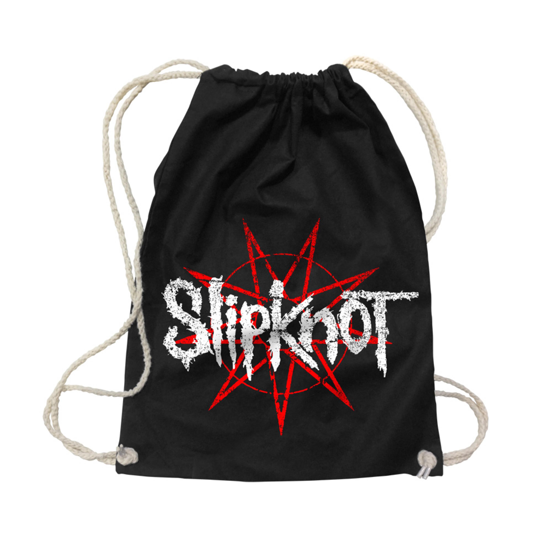 Star Logo von Slipknot - Gym Bag jetzt im Slipknot - Shop Shop