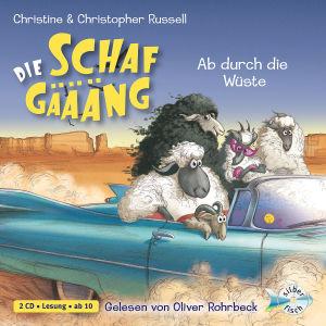 C.U.C.Russell: Die Schafgäääng-Ab Durch D.Wüste von Rohrbeck,Oliver - CD jetzt im Bravado Shop