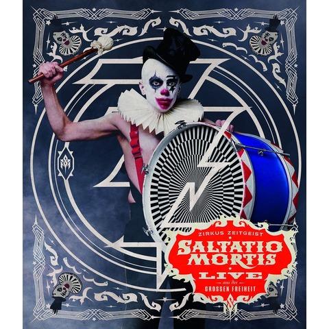 Zirkus Zeitgeist-Live Aus Der Großen Freiheit (BD) von Saltatio Mortis - Blu-Ray Disc jetzt im Bravado Shop