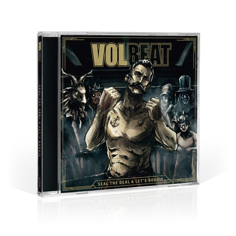 Seal The Deal & Let's Boogie von Volbeat - CD jetzt im Bravado Shop