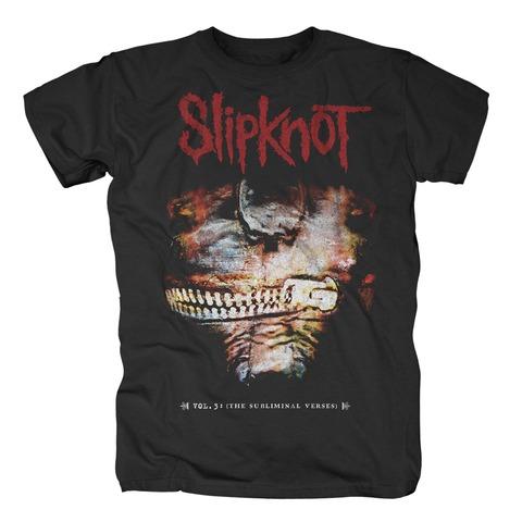 The Subliminal Verses Album Cover von Slipknot - T-Shirt jetzt im Bravado Shop
