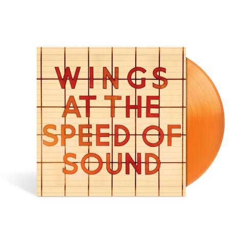 At The Speed Of Sound (Ltd./Excl. Orange Vinyl) von Wings -  jetzt im Bravado Shop