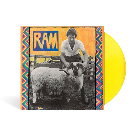 RAM (Ltd./Excl. Yellow Vinyl) von Paul & Linda McCartney -  jetzt im Bravado Shop