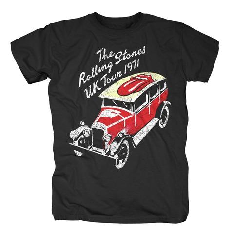 UK Tour 1971 von The Rolling Stones - T-Shirt jetzt im Bravado Shop