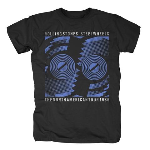 Steel Wheels Tour 1989 von The Rolling Stones - T-Shirt jetzt im Bravado Shop